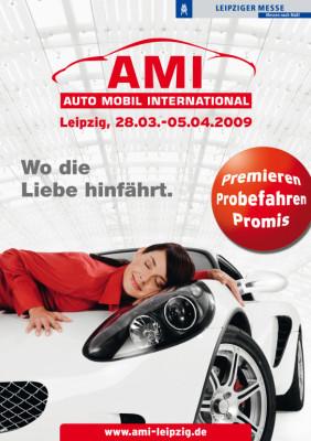 AMI 2009: Premierenfeuerwerk und Mitmach-Aktionen auf der Auto Mobilausstellung International