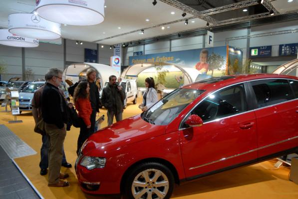 AMI 2009 in Leipzig – turbostark mit Erdgas: Neue Erdgasfahrzeuge sehen und erleben