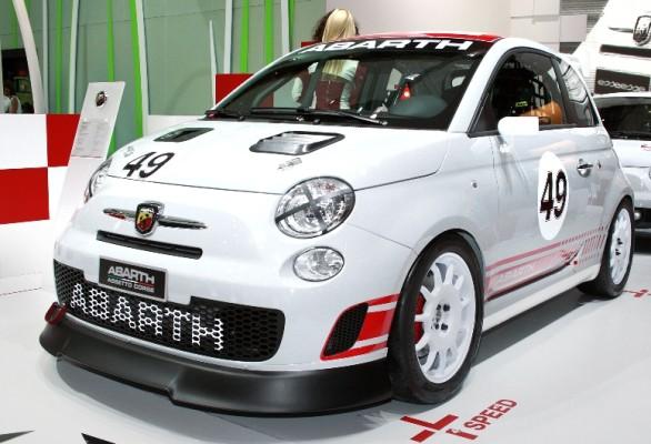 Abarth-Rennserie startet in Monza