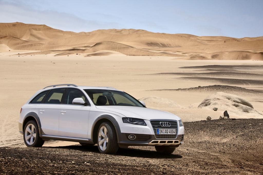 Audi A4 allroad quattro: Das Terrain spielt keine Rolle...