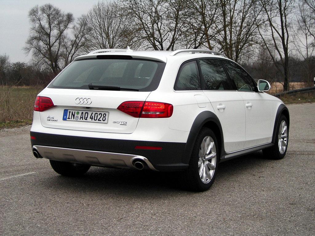 Audi A4 allroad quattro: Eigenständiger Charakter