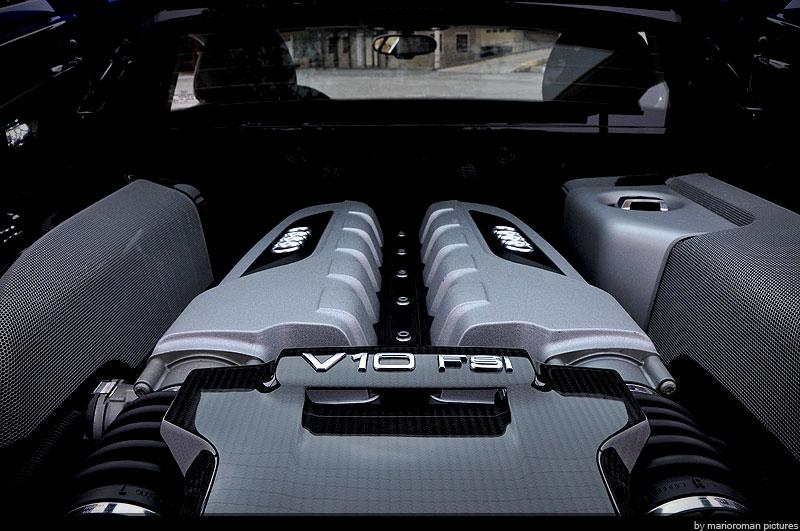 Bayrische Stiergelüste: Audi R8 V10
