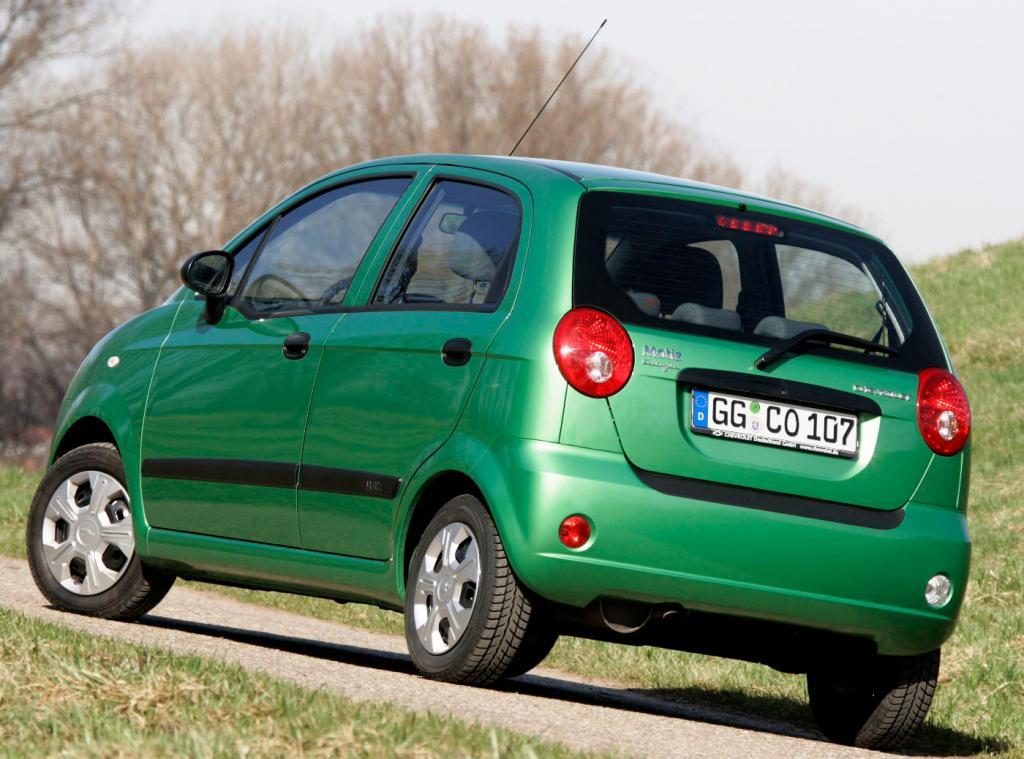 Chevrolet Matiz ist steuergünstigstes Modell in Deutschland