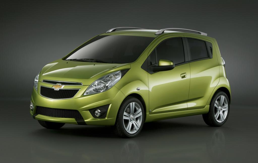 Chevrolet Spark feiert in Genf Premiere