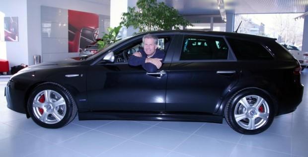 Christian Danner entschied sich für einen Alfa Romeo 159 Sportwagen