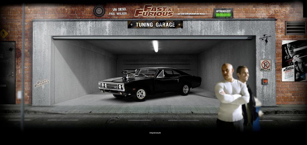 Chrome Heroes - Die MuscleHelden aus Fast & Furious 4