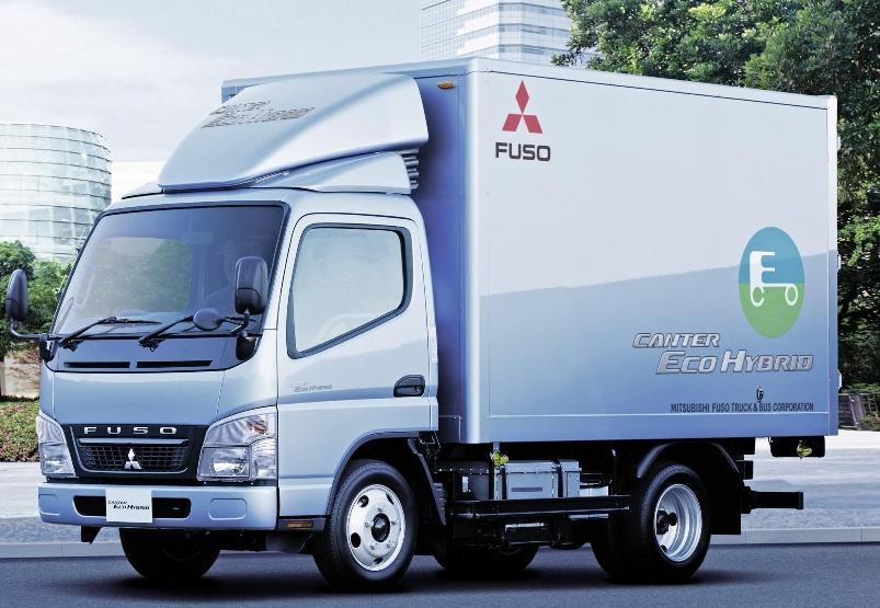 Daimler Trucks verkauft 500sten Mitsubishi Fuso Hybrid in Japan