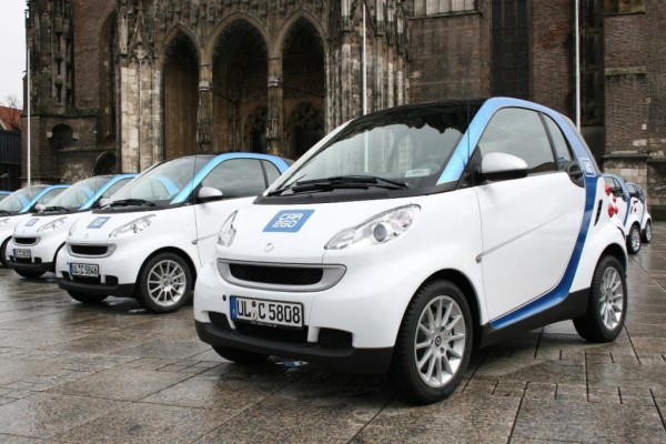 Daimler startet Smart-Sharing in Ulm