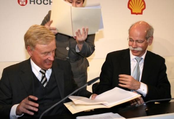 Daimler und Hamburg forcieren Einsatz von Brennstoffzellen-Fahrzeugen