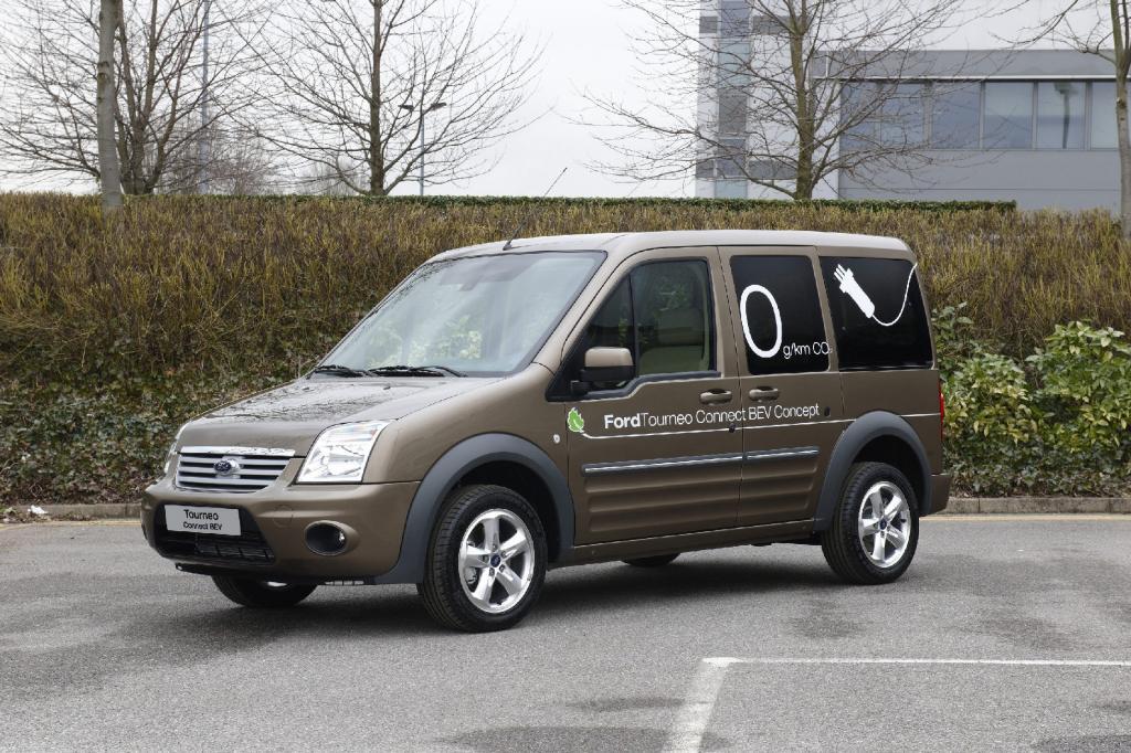 Elektro-Lieferwagen von Ford