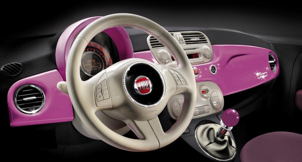 Fiat zeigt 500-Showcar in Pink