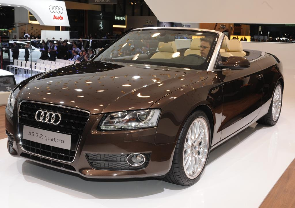 Genf 2009: Audi A5 Cabriolet mit klassischem Verdeck und hohem Nutzwert