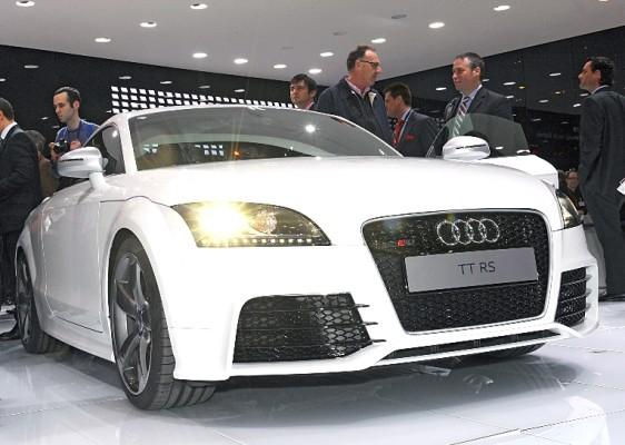 Genf 2009: Audi TT RS mit fünf Zylindern und 340 PS