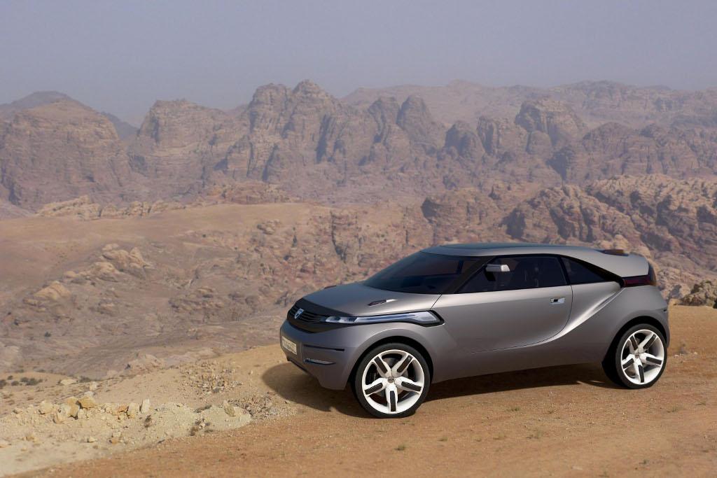 Genf 2009: Dacia zeigt die Studie Duster