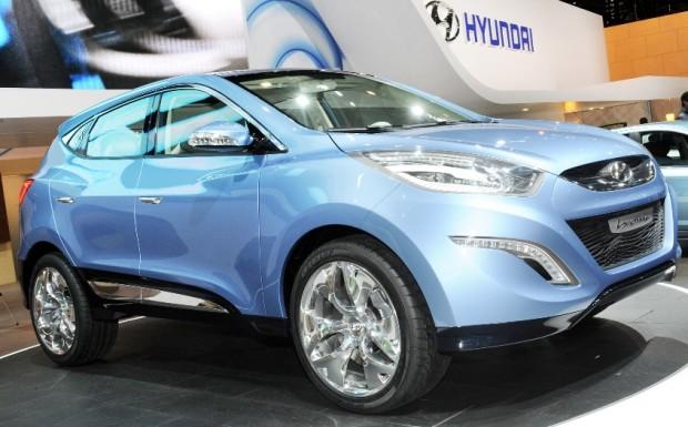Genf 2009: Hyundai präsentiert kompakte SUV-Studie Ix-onic
