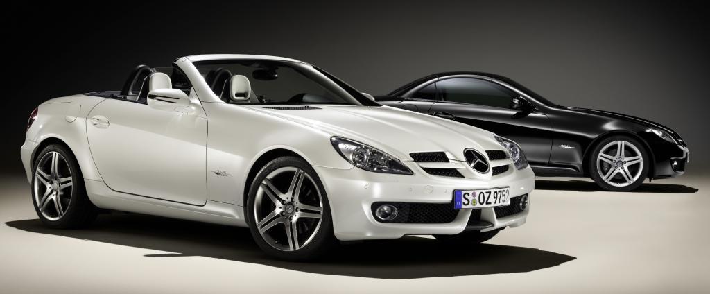 Genf 2009: Mercedes-Benz SLK als Sondermodell