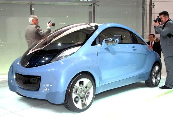 Genf 2009: Mitsubishi zeigt Europaversion des i-MiEV