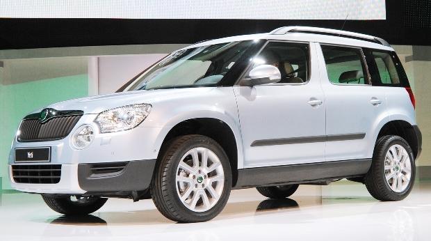 Genf 2009: Škoda Yeti kommt in diesem Jahr