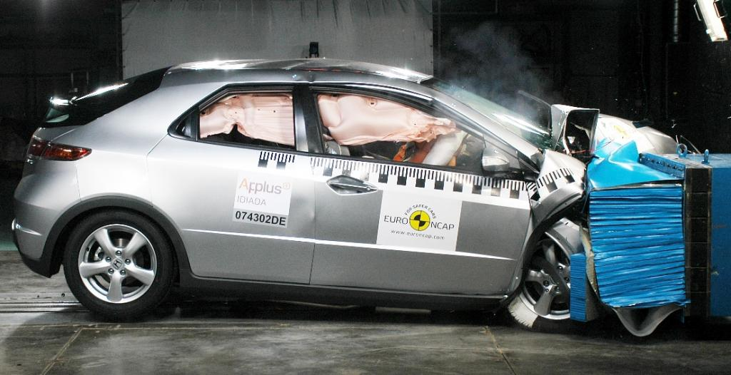 Honda Civic erhält fünf Sterne im Euro NCAP-Crashtest