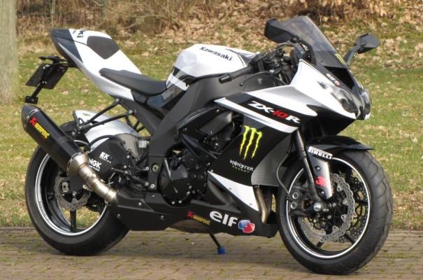 "Kawasaki Ninja ZX-10R ""White Edition"" auf 50 Stück limitiert"