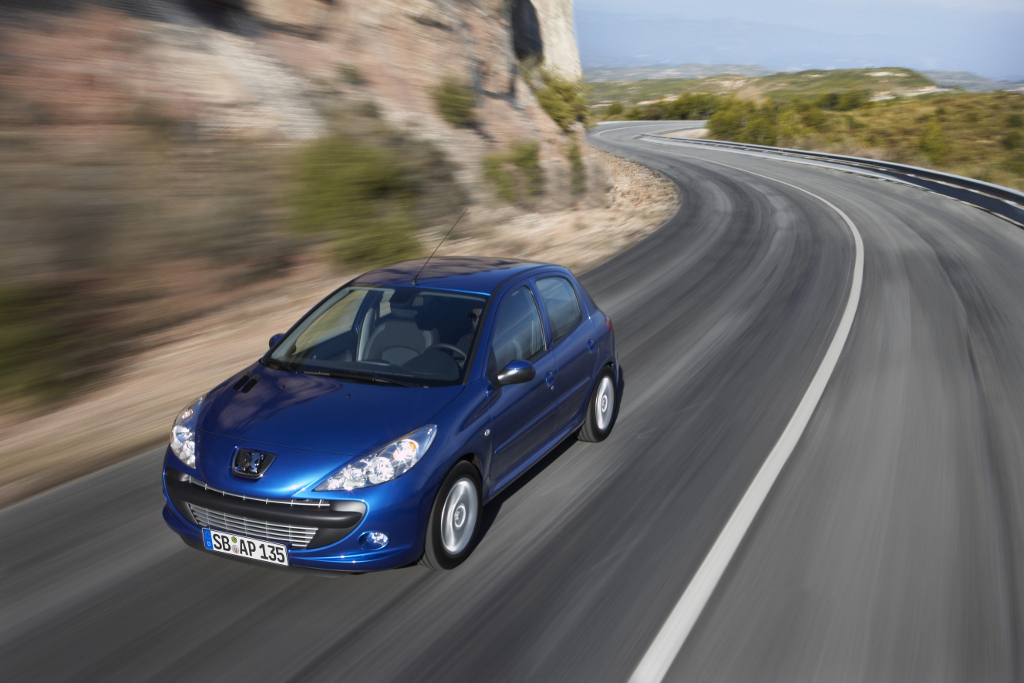 Leipzig 2009: Weltpremiere des Peugeot 206 +