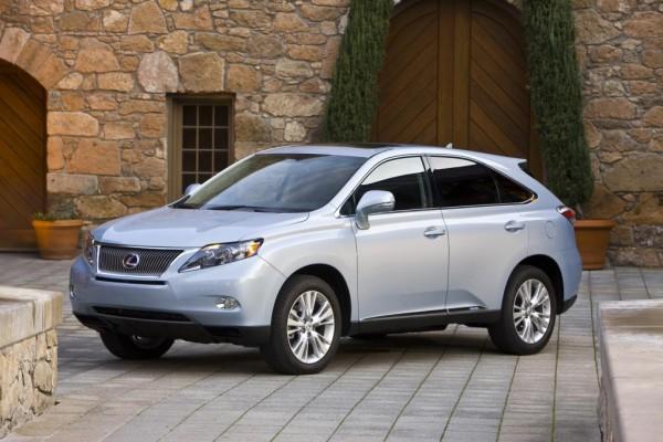 Lexus RX mit neuem Verbrauchs-Bestwert für SUV