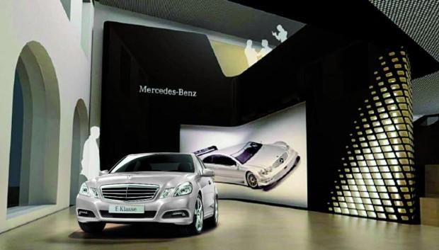 Mercedes-Benz Gallery in München eröffnet