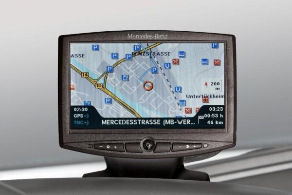 Neues Lkw-Navi von Mercedes