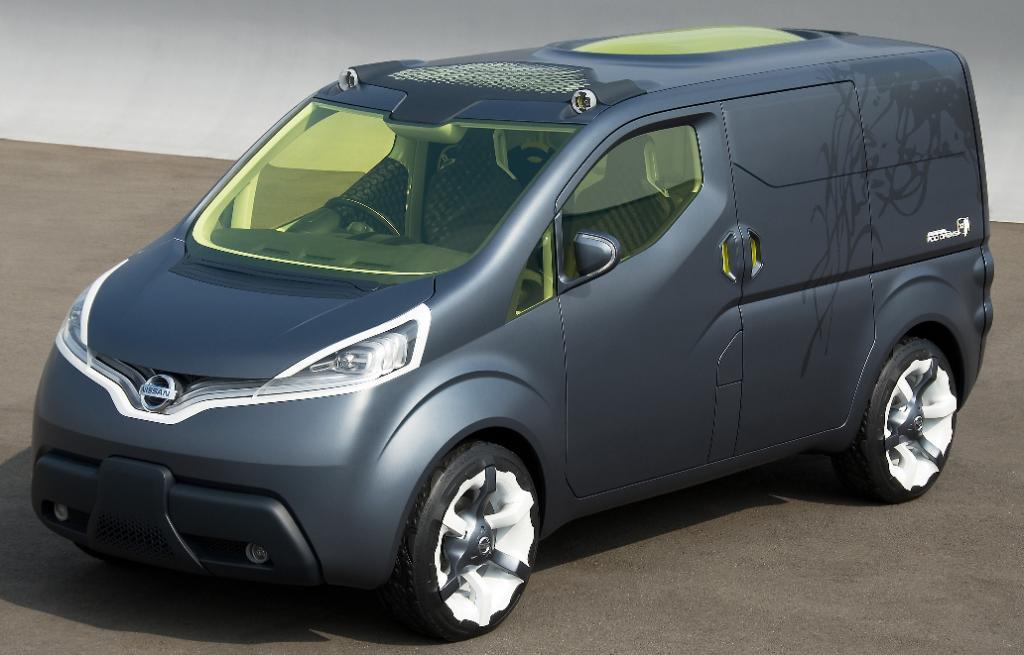 Nissan baut Qazana und NV200 in Europa