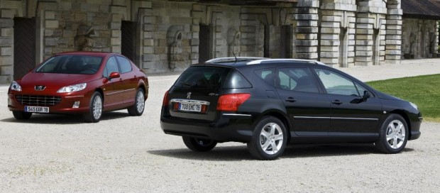 Peugeot 407 mit niedrigerem Kraftstoffverbrauch