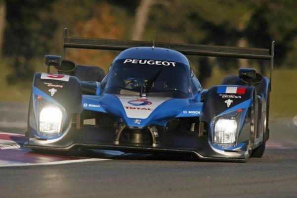 Peugeot startet mit zwei 908 HDi FAP in Sebring