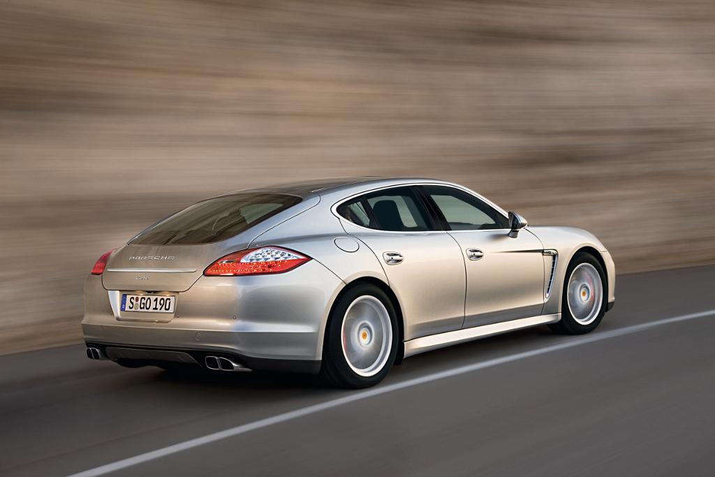 Porsche Panamera:  Luxus mit hohem Wirkungsgrad