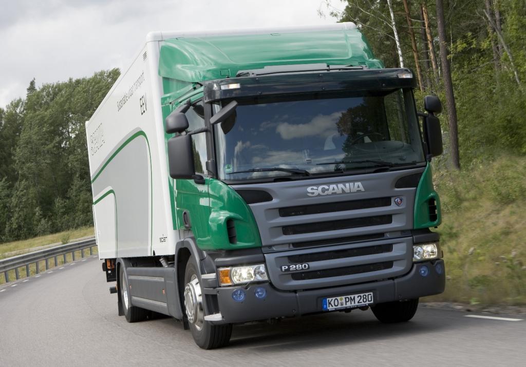 Scania bietet Dieselpartikelfilter zum Nachrüsten an