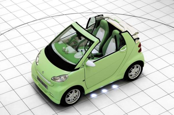 Smart präsentiert Fortwo Brabus Electric Drive