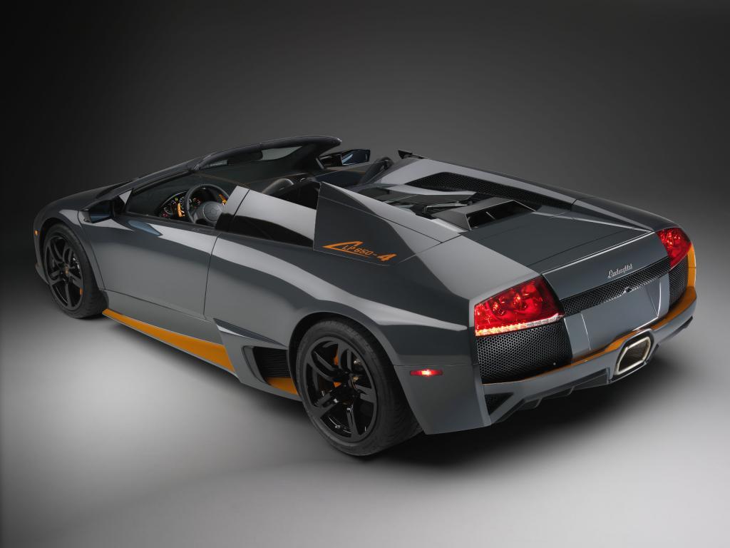 Spezialausgabe: Lamborghini Murciélago LP 650-4 Roadster
