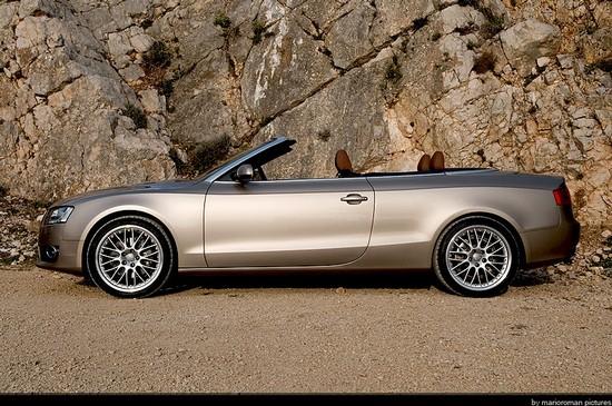 Stillvoller Freiheitsgenuss: Audi A5 Cabriolet