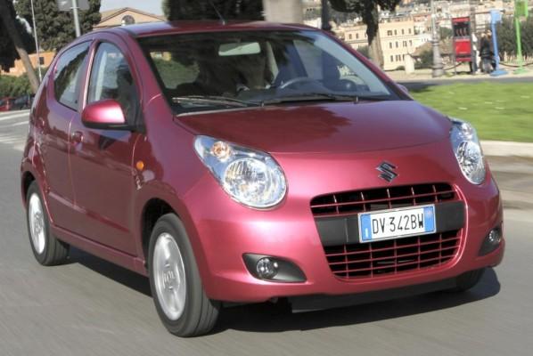 Suzuki Alto kommt im April