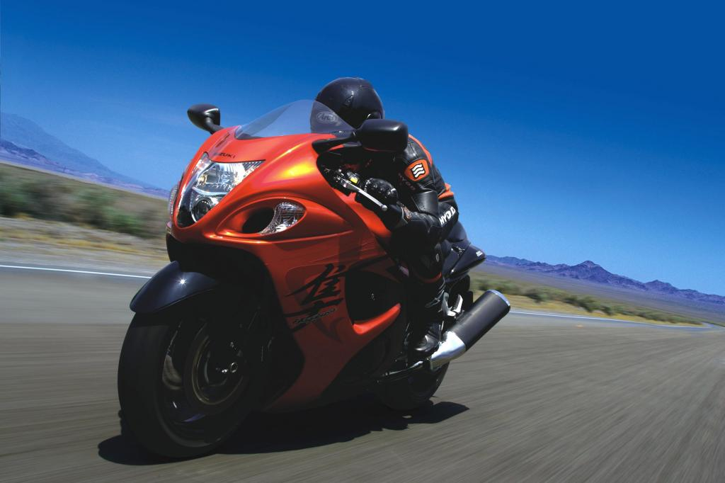 Suzuki Hayabusa: Der Wanderfalke startet durch