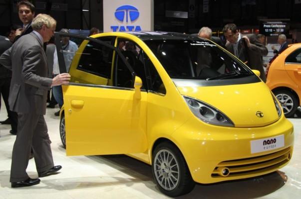 Tata Nano Europa mit mehr Sicherheitsausstattung
