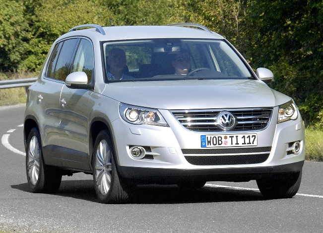 Volkswagen Tiguan TDI erfüllt Abgasnorm Euro 5