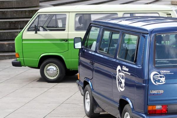 Volkswagen feiert 30sten Geburtstag des T3