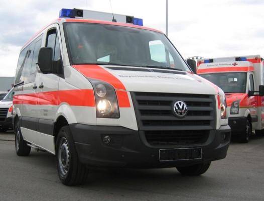 Volkswagen ist Markführer bei Rettungswagen