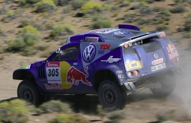 Volkswagen startet bei Rallye-Premiere im Orient