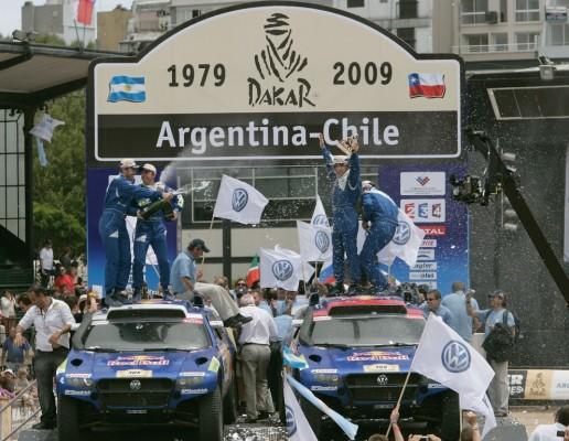 Volkswagen tritt 2010 bei der Rallye Dakar wieder an
