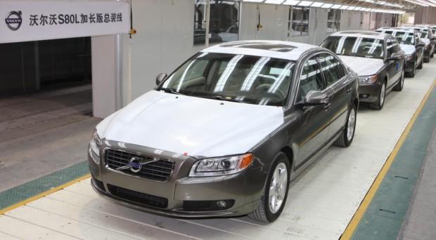 Volvo startet in China Produktion des S80L