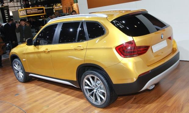 Vorbereitungen für den BMW X1-Start laufen auf Hochtouren
