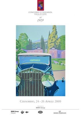 Zum 80. Mal: Historische Traumwagen am Comer See