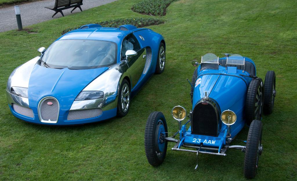 100 Jahre Bugatti beim Concorso d'Eleganza Villa d'Este