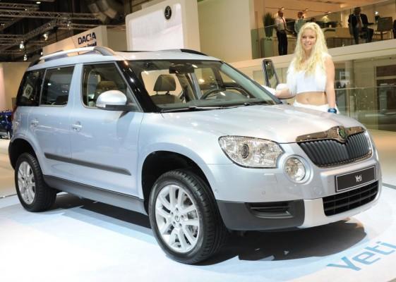 AMI 2009: Škoda Yeti gibt sein Deutschland-Debüt