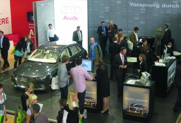 Audi wirbt in Hannover für den Ingenieurnachwuchs